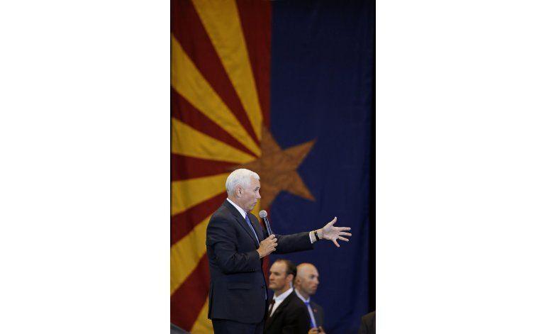 Pence ignora preguntas sobre respaldo a Ryan y McCain