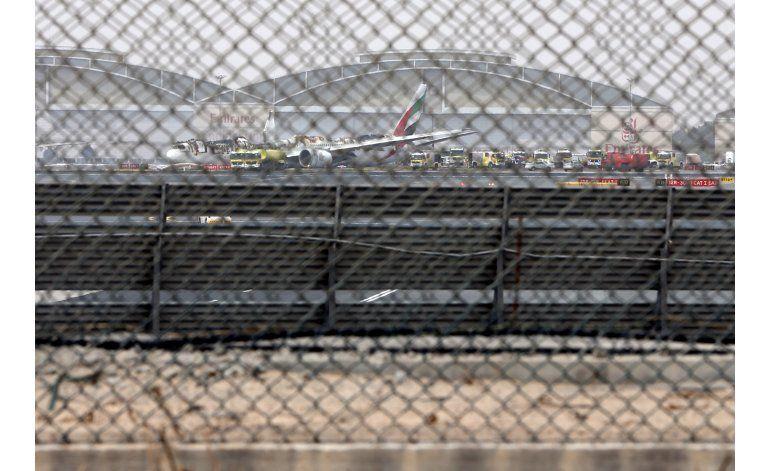 Evacuado un avión tras duro aterrizaje en Dubái
