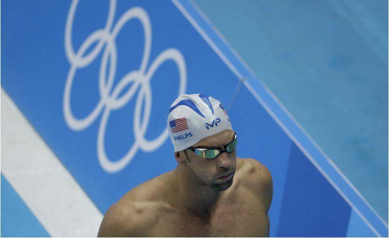 Phelps llevará bandera de EEUU durante ceremonia inaugural
