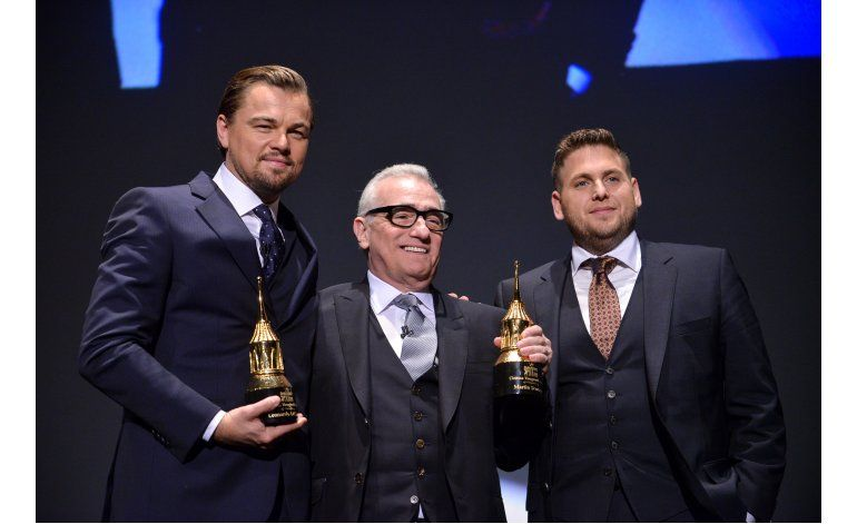 Video muestra a DiCaprio jugar una broma a Jonah Hill