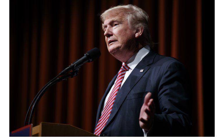Trump presenta su plan de política económica