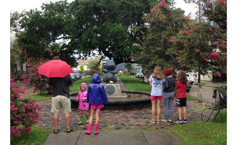 Estatua de Pokémon aparece en parque de New Orleans