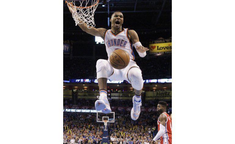 Fuente AP: Thunder y Westbrook alcanzan acuerdo por 3 años