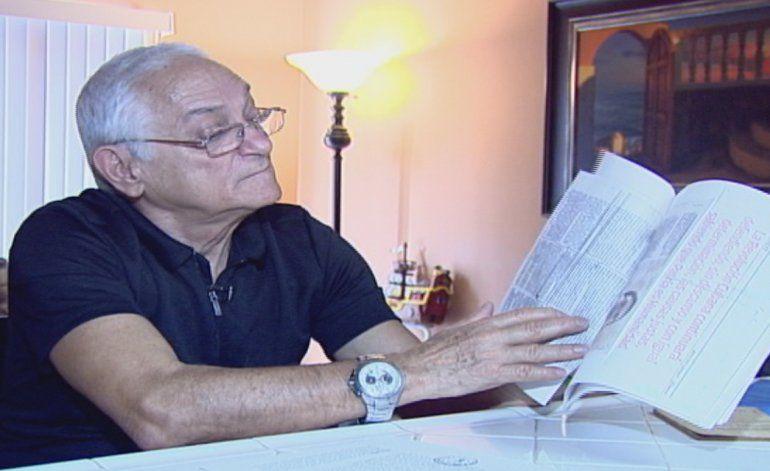 Marinero mercante cubano denuncia como los hacian firmar nóminas falsas cuando eran contratados por cuba para trabajar en barcos extranjeros