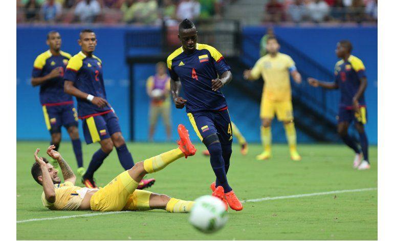 Colombia rescata empate frente a Suecia en fútbol olímpico