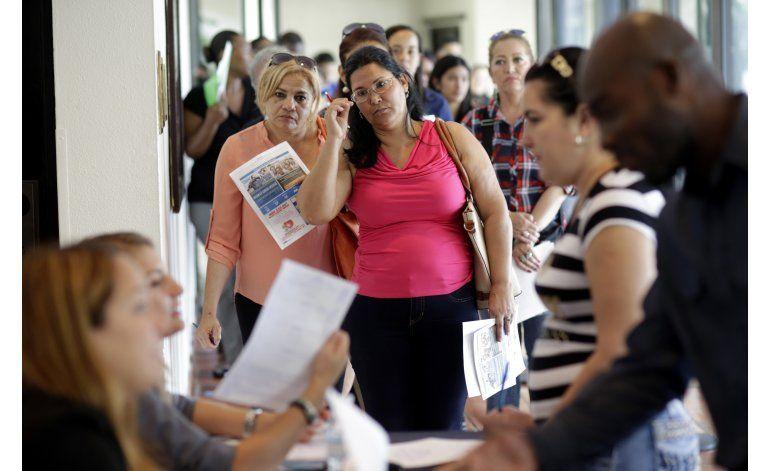 EEUU crea 225.000 puestos de trabajo en julio