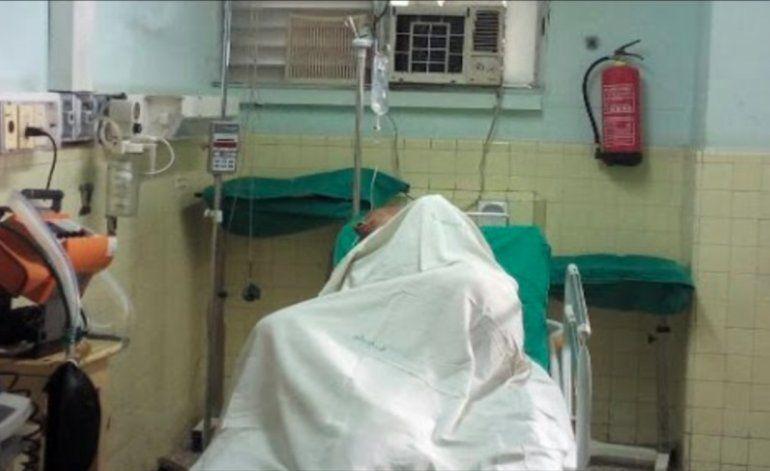 Hospitalizan a Fariñas en decimosexto día de su huelga de hambre y sed
