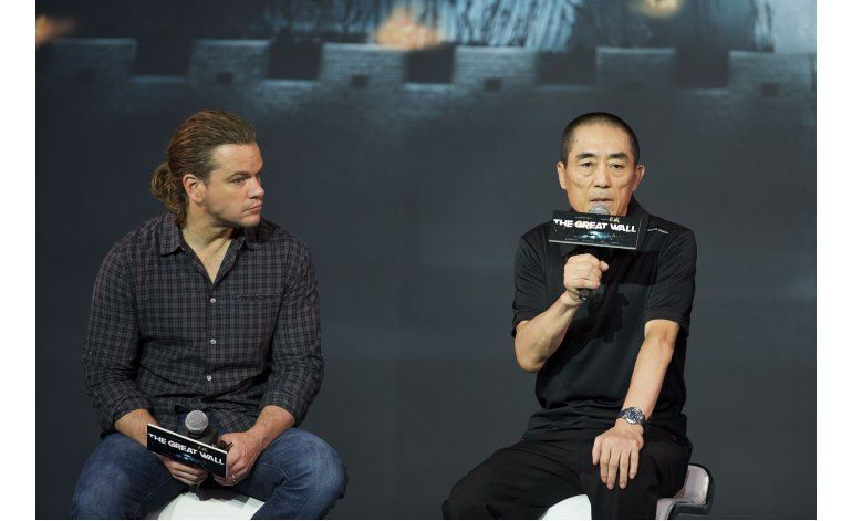 Director chino Zhang Yimou defiende casting de Matt Damon