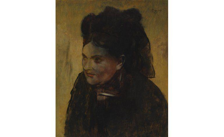 Rayos X develan otro retrato bajo un famoso cuadro de Degas