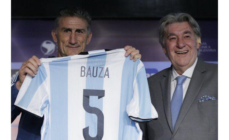 Argentina: Bauza asume como técnico y su prioridad es Messi