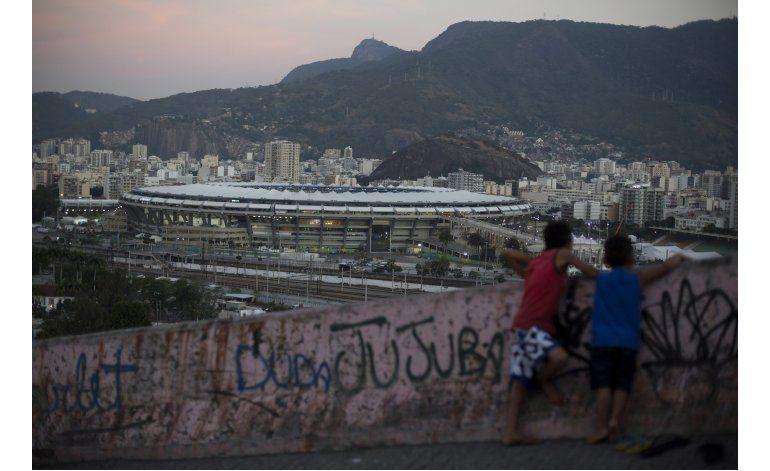 Cariocas viven la fiesta de los Juegos Olímpicos en casa