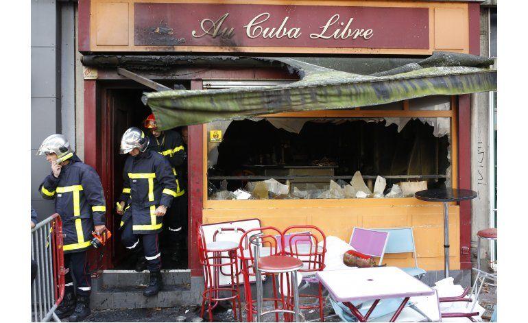 Incendio en bar de Francia deja 13 muertos