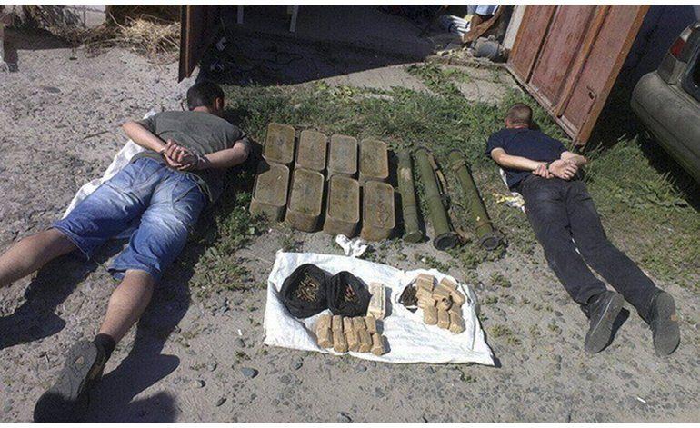 La guerra trae a Ucrania un supermercado de armas ilegales