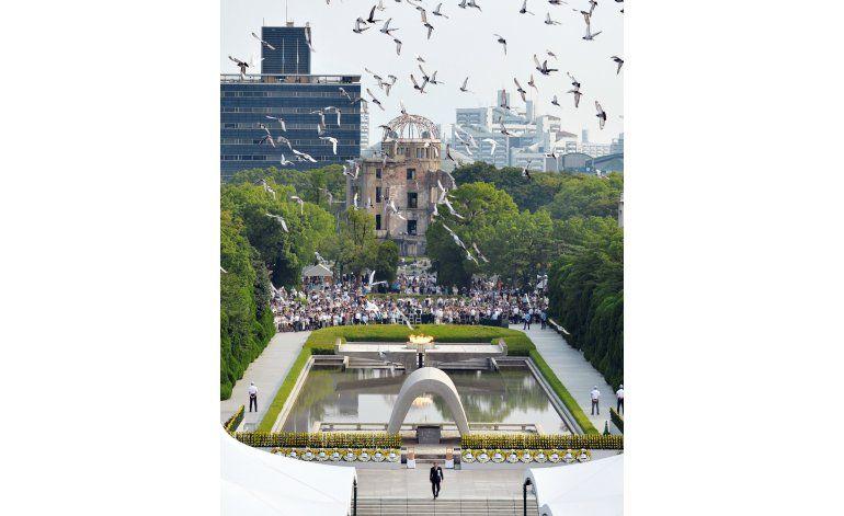Japón a líderes mundiales: visiten Hiroshima, como Obama