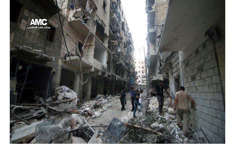 Insurgentes sirios lanzan nueva ofensiva en Alepo