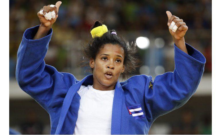 LO ULTIMO: Judoca cubana apaga sueño dorado de local Menezes