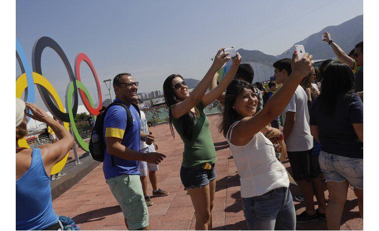 Hinchas mundiales a ritmo de bossa nova en Parque Olímpico
