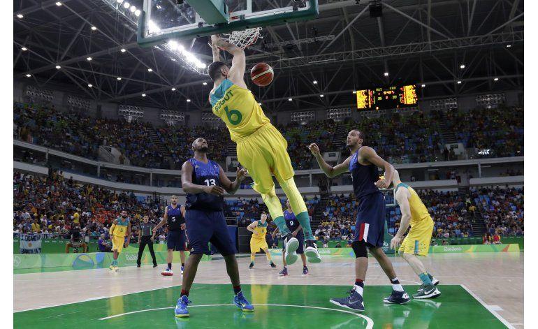 EEUU luce ante China en su debut en básquet en Río