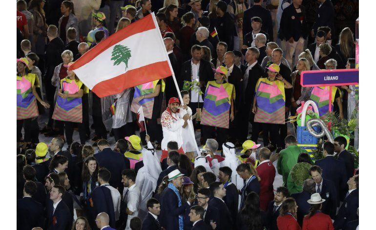 Encontronazo entre deportistas de Israel y Líbano en Río