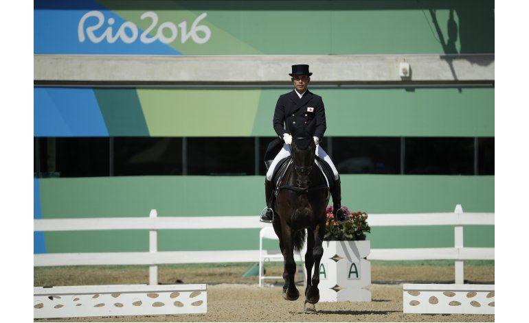 Investigan disparo durante competencia de equitación en Río