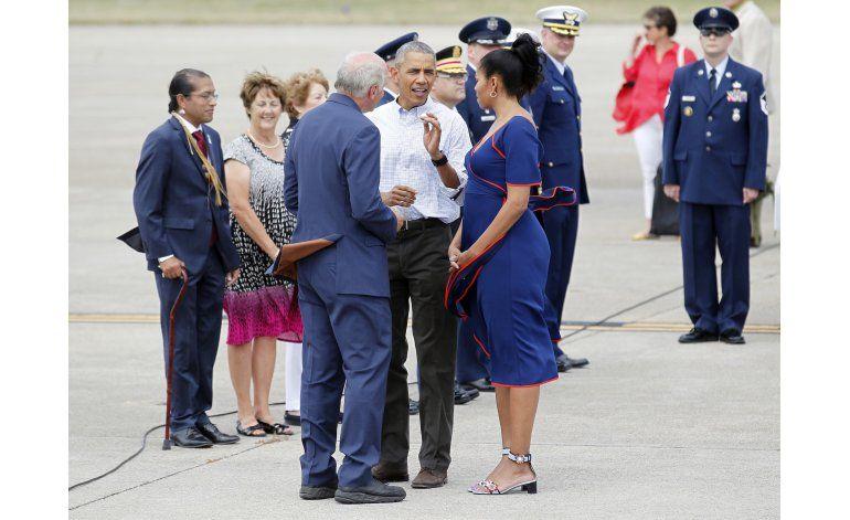 Obama se sincera sobre su golf: tiene problemas en la arena
