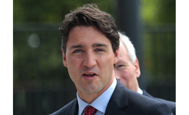 Se viraliza una foto del primer ministro Trudeau sin camisa