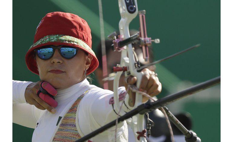 Mexicanas se conforman en Río con 5to lugar en tiro con arco
