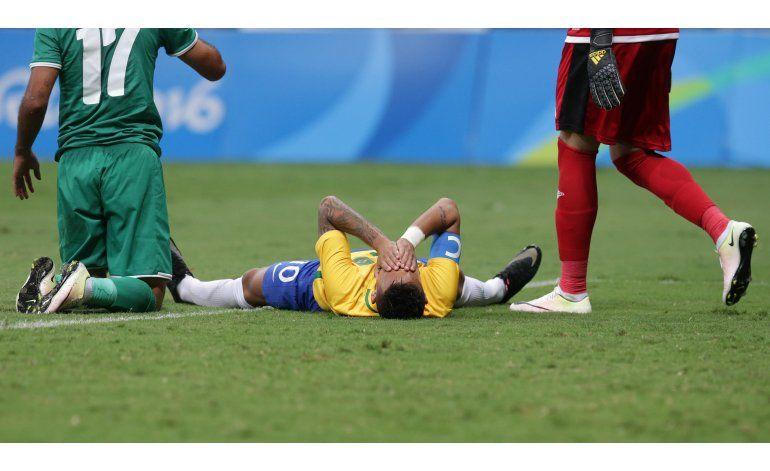 Otra decepción de Brasil: empata sin goles ante Irak