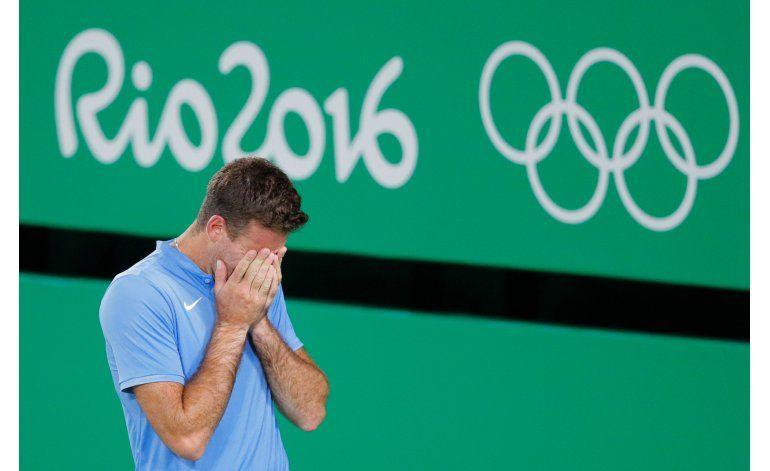 Del Potro renace con victoria sobre Djokovic en Río