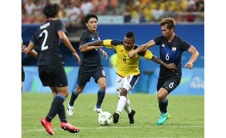 Colombia se deja empatar por Japón en el fútbol olímpico