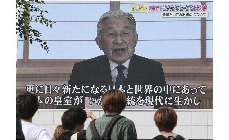 Emperador japonés, preocupado por poder cumplir sus deberes