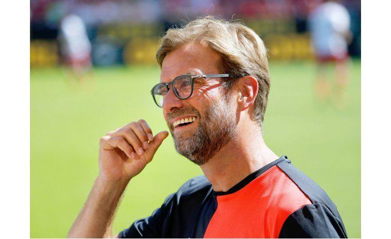 Carismático Klopp comienza a dar forma al Liverpool