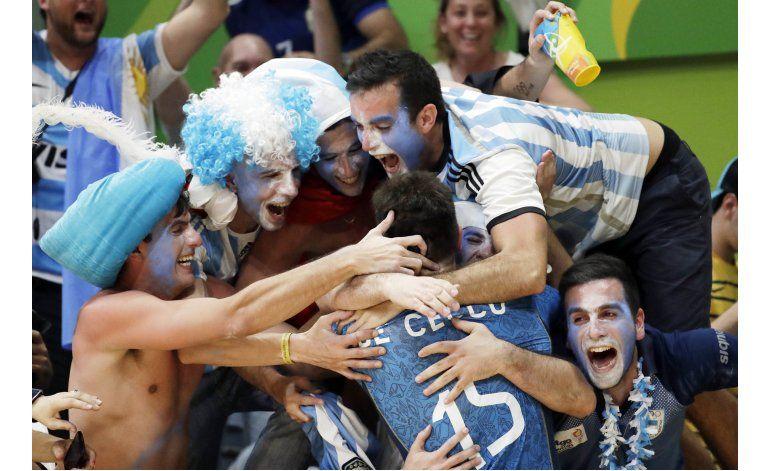 La rivalidad entre Argentina y Brasil llegó a los Olímpicos