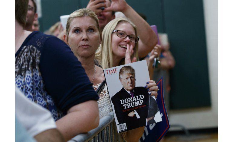 Trump intenta enderezar su campaña, promete bajar impuestos
