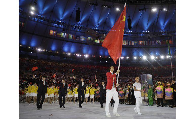 Organizadores de Río reemplazan banderas erróneas de China