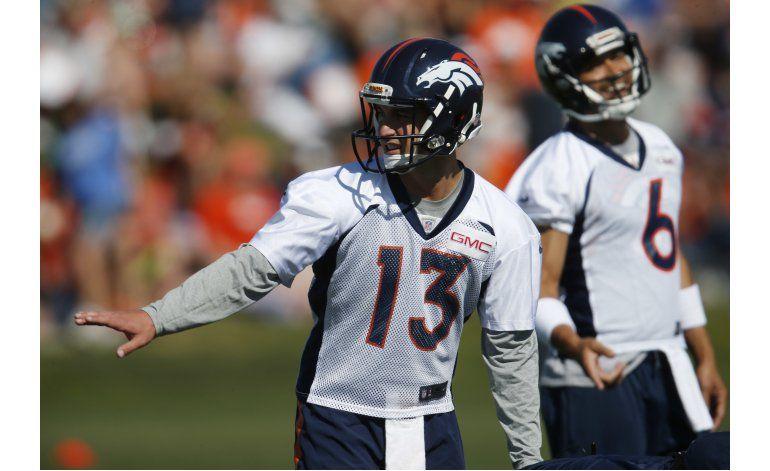 Sanchez y Siemian listados como titulares de Broncos