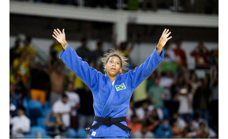 Judoca Silva da a Brasil su primera medalla de oro en Río