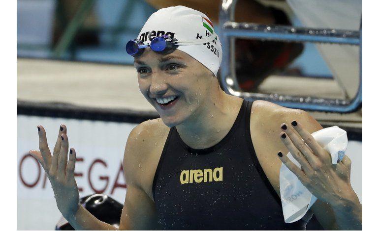 Húngara Hosszu, primera nadadora con dos oros en Río 2016