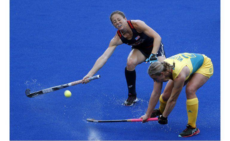 Las Leonas ganan y reviven en los Juegos Olímpicos