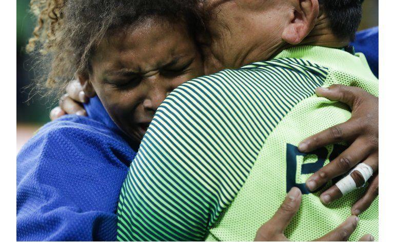 Brasil y Colombia ganan sus primeros oros en Río