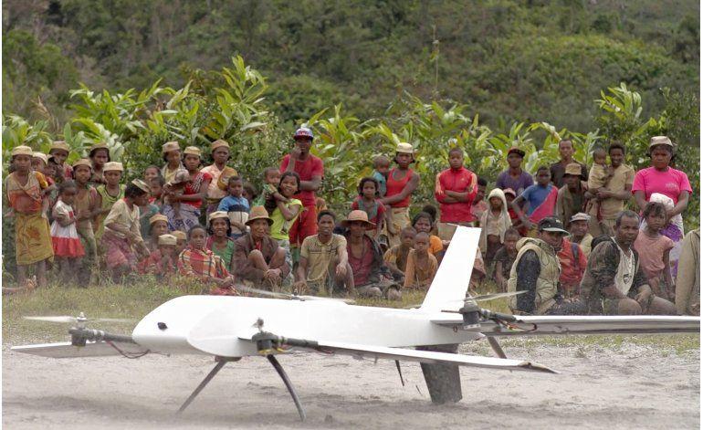 Drones ayudan contra enfermedades en zonas lejanas