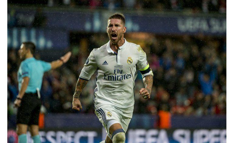 Real Madrid vence 3-2 al Sevilla en tiempo extra