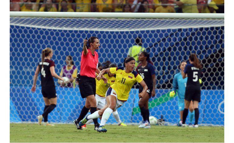 Colombia  empata con EEUU en el fútbol de mujeres de Río