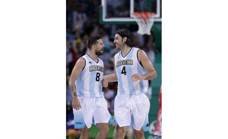Scola, en plan grande, da otro triunfo a Argentina en Río