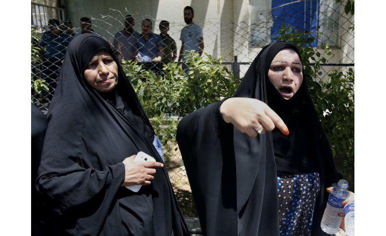 Mueren 12 bebés en un incendio en un hospital de Bagdad