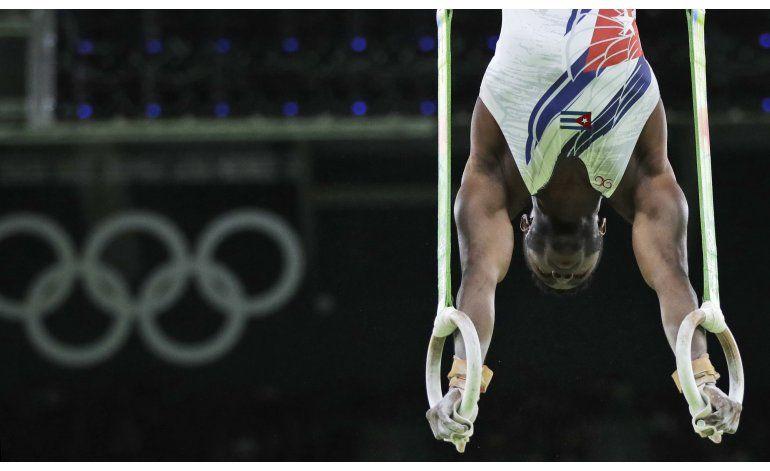 Cubano Larduet abandona final de gimnasia en Río