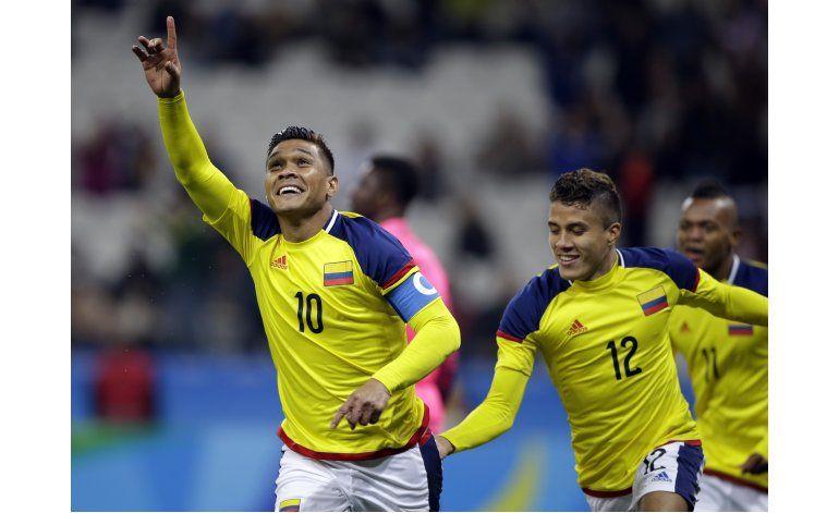Colombia gana y avanza a cuartos en fútbol olímpico