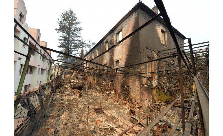 Incendios forestales causan estragos en Francia y Portugal