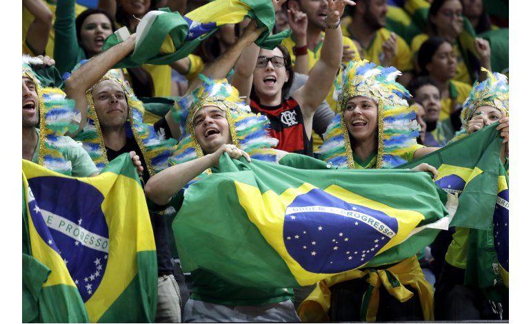 La ruidosa afición brasileña reescribe la etiqueta olímpica