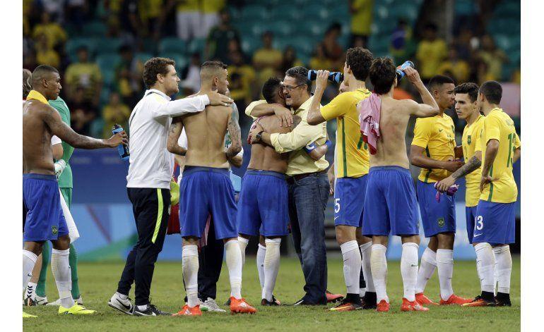 Brasil despierta en el fútbol olímpico